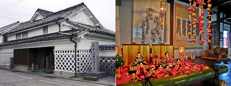 ③北原白秋生家(柳川雛祭り会場)