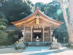 ④竈門神社