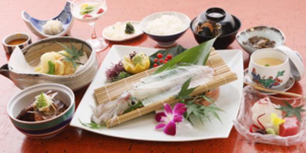 ④昼食:河太郎中州本店 たびこん福岡オリジナルメニュー『河太郎御膳』