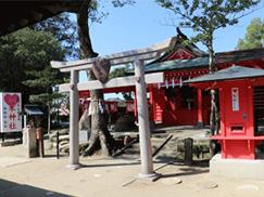 ①恋木神社(水田天満宮)