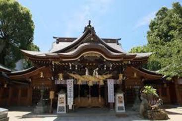 ①櫛田神社