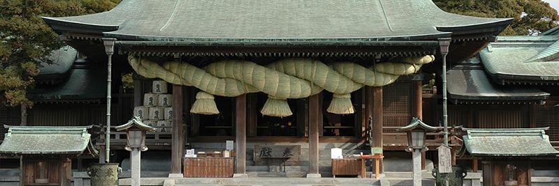 ①宮地嶽神社