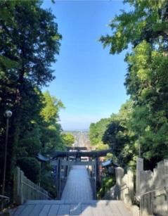 ②宮地嶽神社